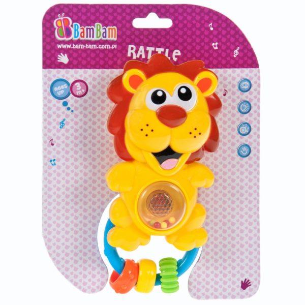 BamBam muusikaga kõristi lõvi