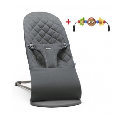 babybjõrn Bouncer and toy