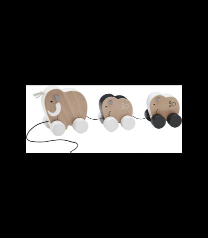 Kid`s Concept järelveetav elevandi pere