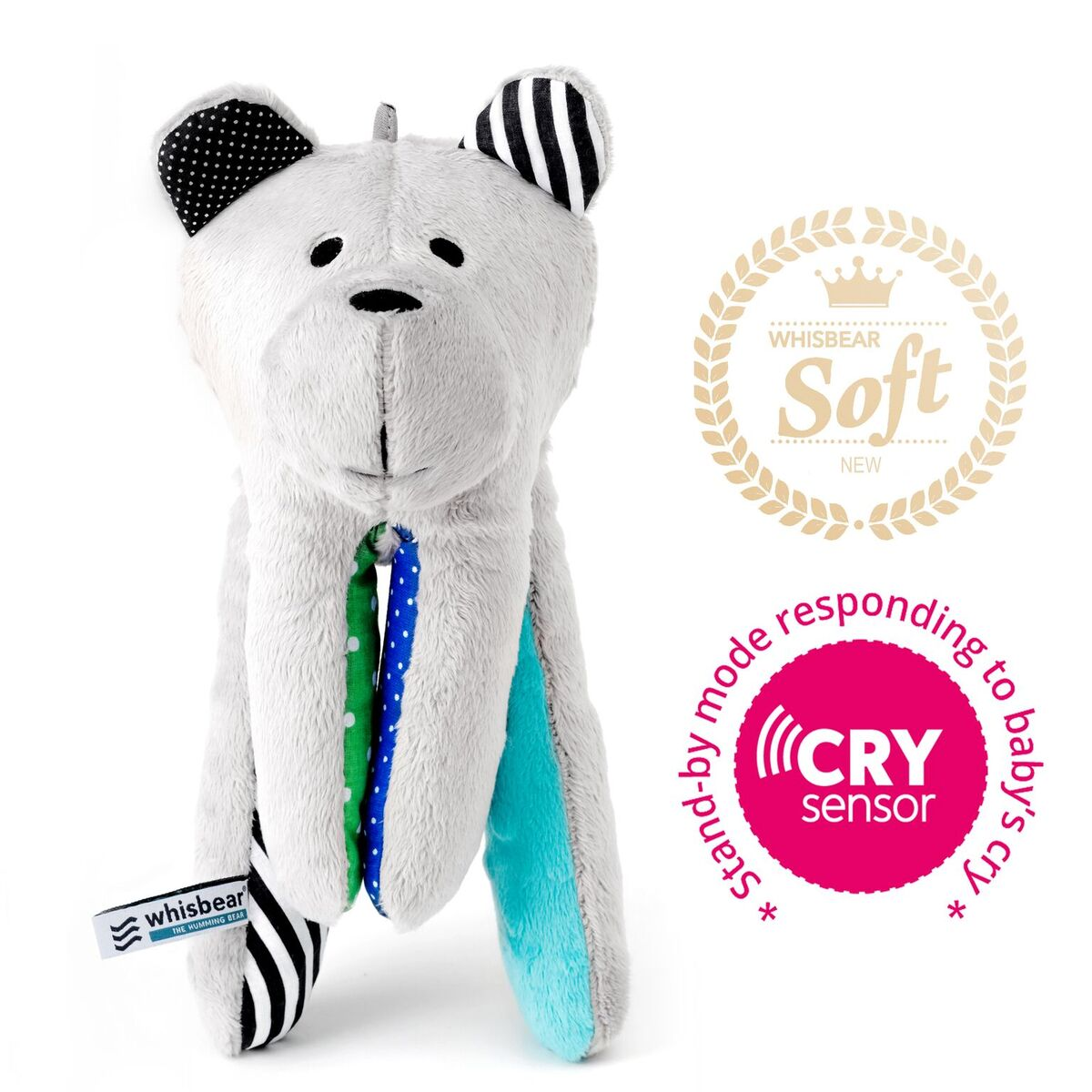 Whisbear The Humming Bear CRYsensor turquoise