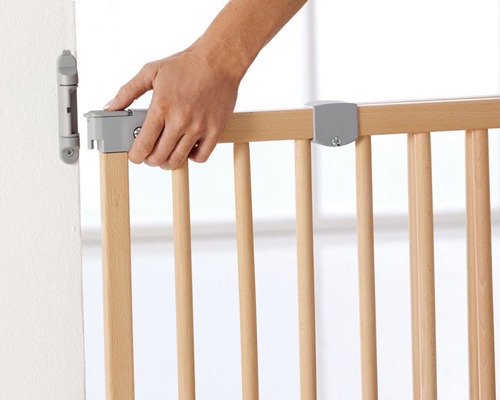 BabyDan turvavärav Flexi Fit wood