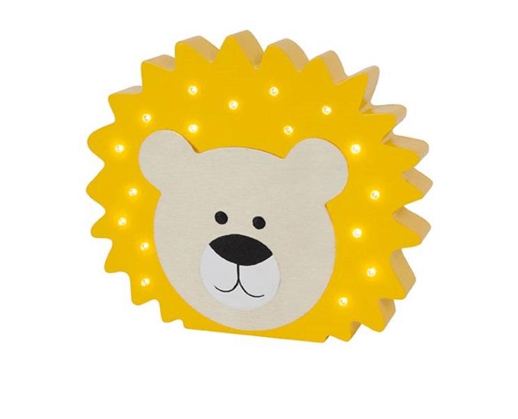 Jabadabado ledlamp lõvi