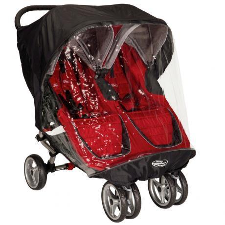 Baby Jogger vihmakile kaksikute jalutuskärule
