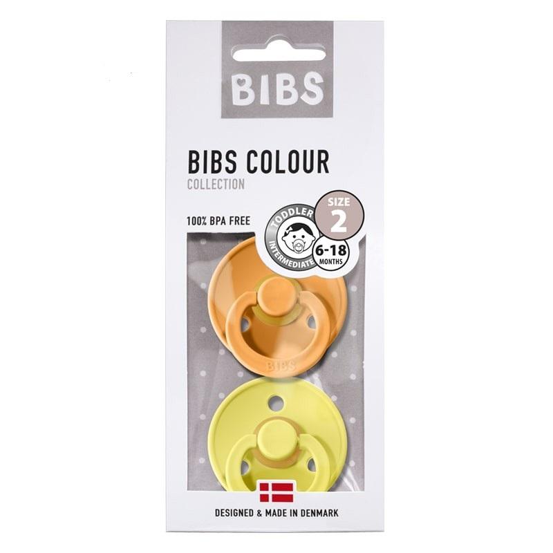Bibs lutt 2-pakk Apricot/Pineapple suurus 2