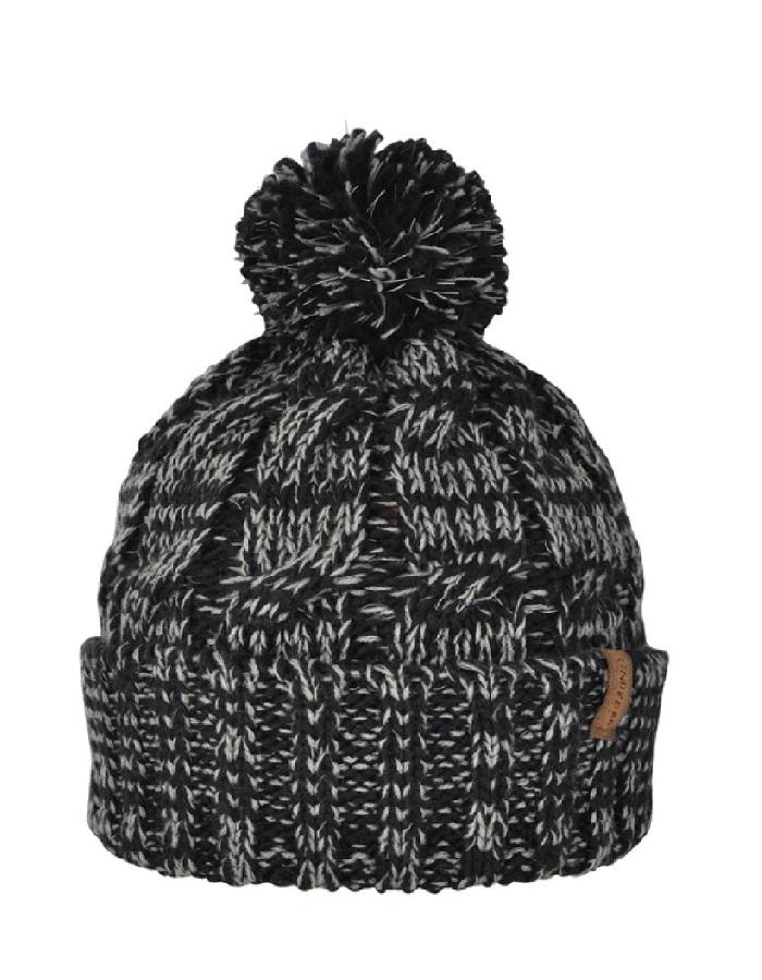 Lindberg helkurefektiga müts Night Light grey/black
