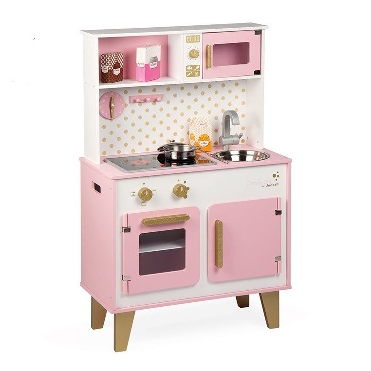 Janod puidust mänguköök Candy Chic