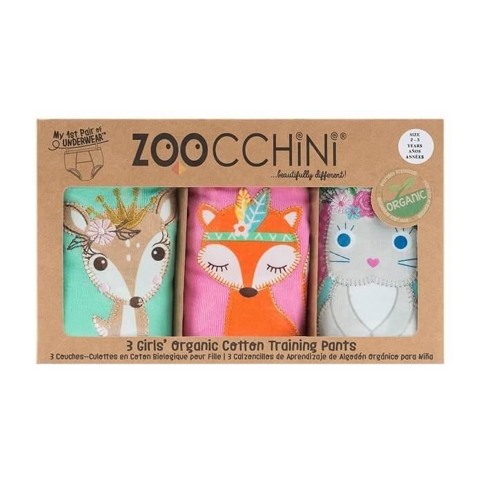 Zoocchini treeningpüksid, tüdrukutele s 2-3 3tk Printsess