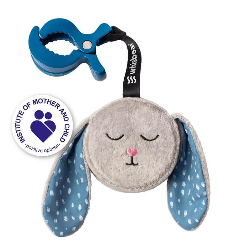 whisbear-beebi-rahustaja-humming-bunny-grey