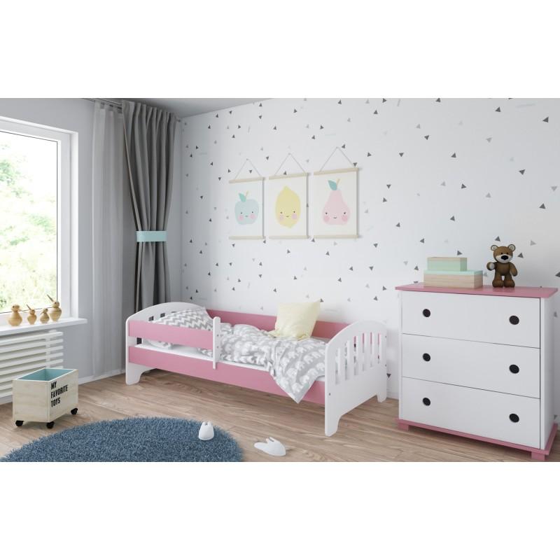 laste-voodi-classic-roosa-sahtlita