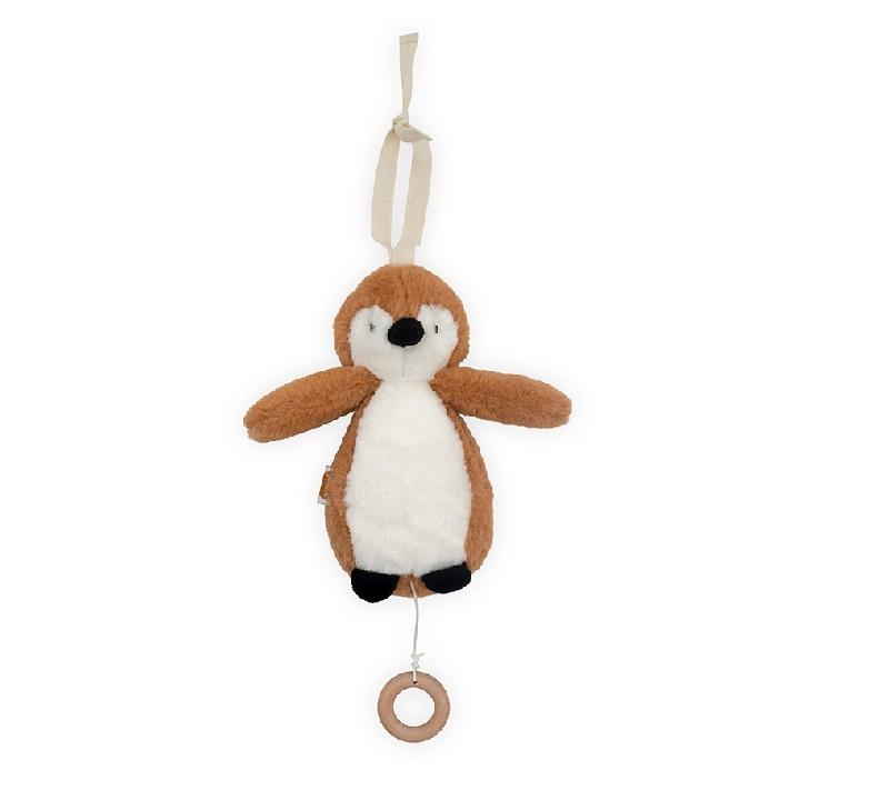 Jollein muusikaga rippuv pingviin, caramel