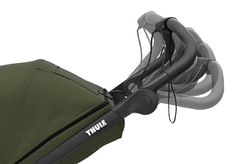 thule-urban-glide-2-cypress-roheline-käepide-liikuv