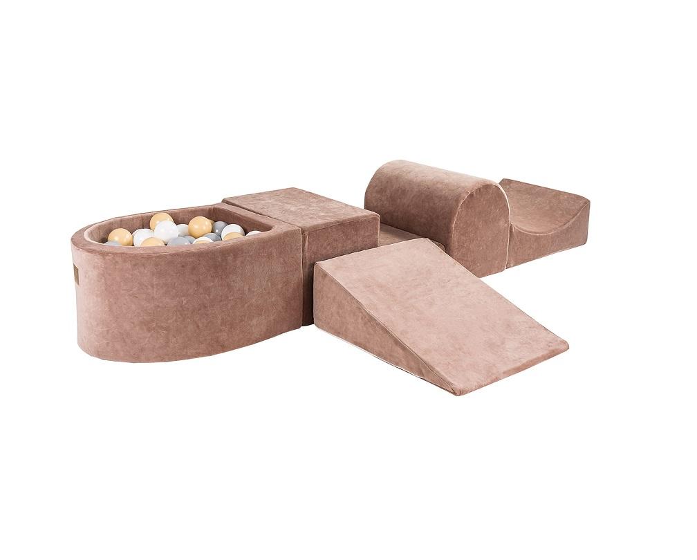 Meowbaby-Foam-Playset-koos-pallimerega-beež-kombo1