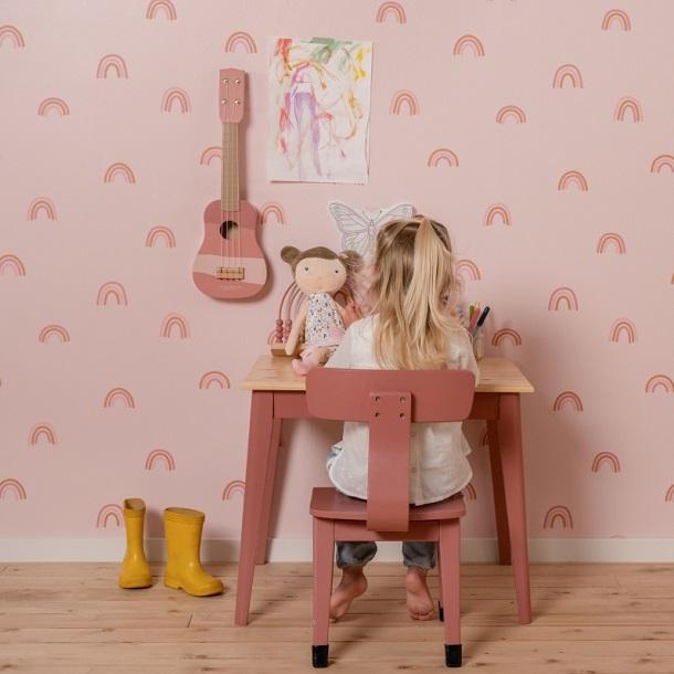 puidust-laud-Pink-Little-Dutch